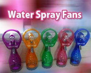 Water Spray Fans