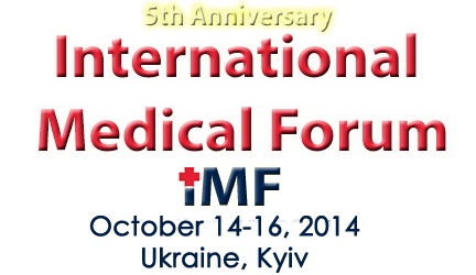 international medical forum ukraine will be held in Oct 2014