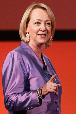 Lynda Gratton Professor at the London Business School  Will Speech At World Business Forum Sydney