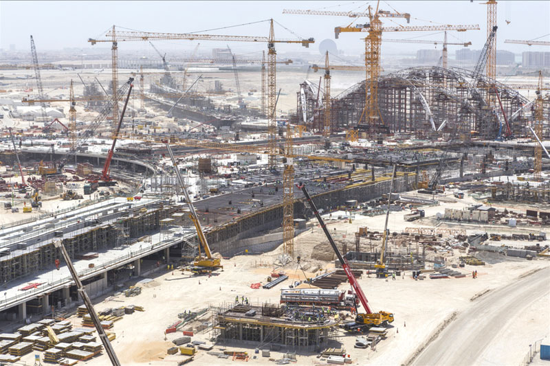 UAE Construction Sector Pace Set to Rapidly Accelerate with USD 46 Billion