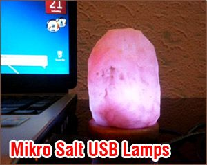 Salt Usb Lamp