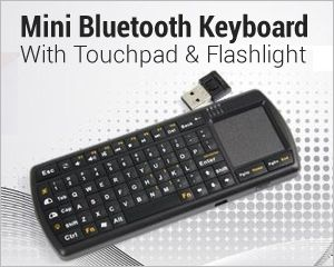 Bluetooth Keyboard With Touchpad